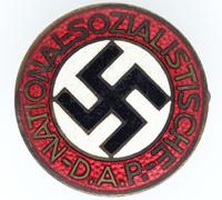 Transitional NSDAP Membership Pin by RZM M1/78