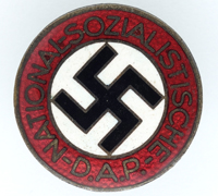 NSDAP Membership Pin by RZM M1/100