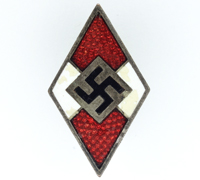 Hitler Youth Membership Pin by RZM M1/102