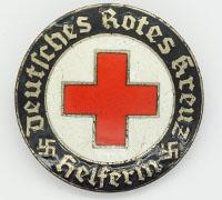 DRK Helper Active Service Brooch