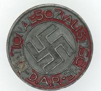 NSDAP Membership Pin by RZM M1/100