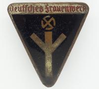 """Women's """"Deutsches Frauenwerk"""" Membership Pin by RZM M1/100"""