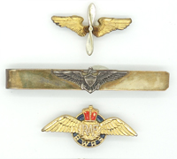 3 Aviation pins