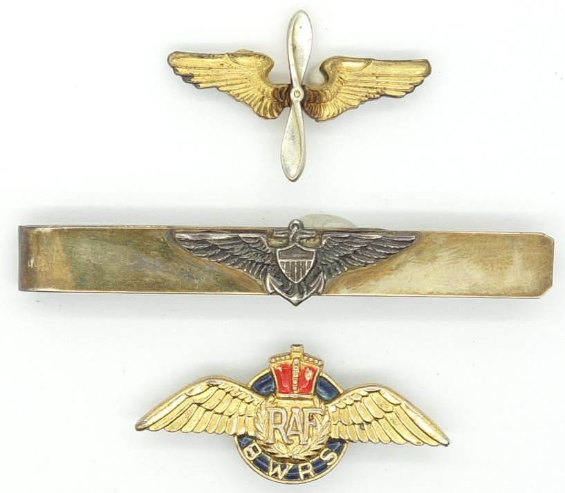 3 Aviation pins