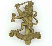 Nederland Cap Badge
