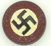 Buttonhole RZM NSDAP Membership Pin by M1/120