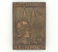 1936 SS Heinrich King of the Germans Quedlinburg Badge