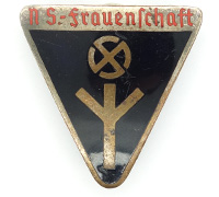 """Women's """"Deutsches Frauenwerk"""" Membership Pin by RZM M1/34"""