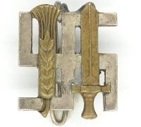 A Reichsnährstand/Blood And Soil Membership Pin By Deschler & Sohn