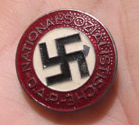 Buttonhole NSDAP Membership Pin