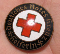 DRK Red Cross Brooch