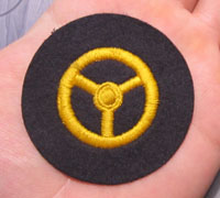 Navy Motor Transport EM Career Sleeve Insignia