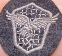 Luftwaffe Motor Vehicle Driver's Trade Patch