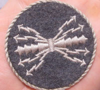 Luftwaffe NCO Air Signals / Operator Trade Badge