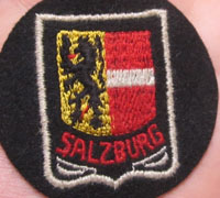 Salzburg (Austria) Coat of Arms Arm Patch