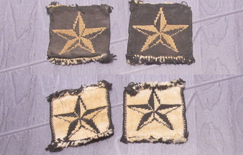 Italian Artillery/Panzer Rank Stars