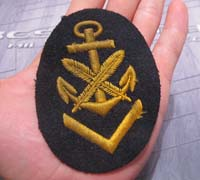 Senior Clerical Career Sleeve Insignia