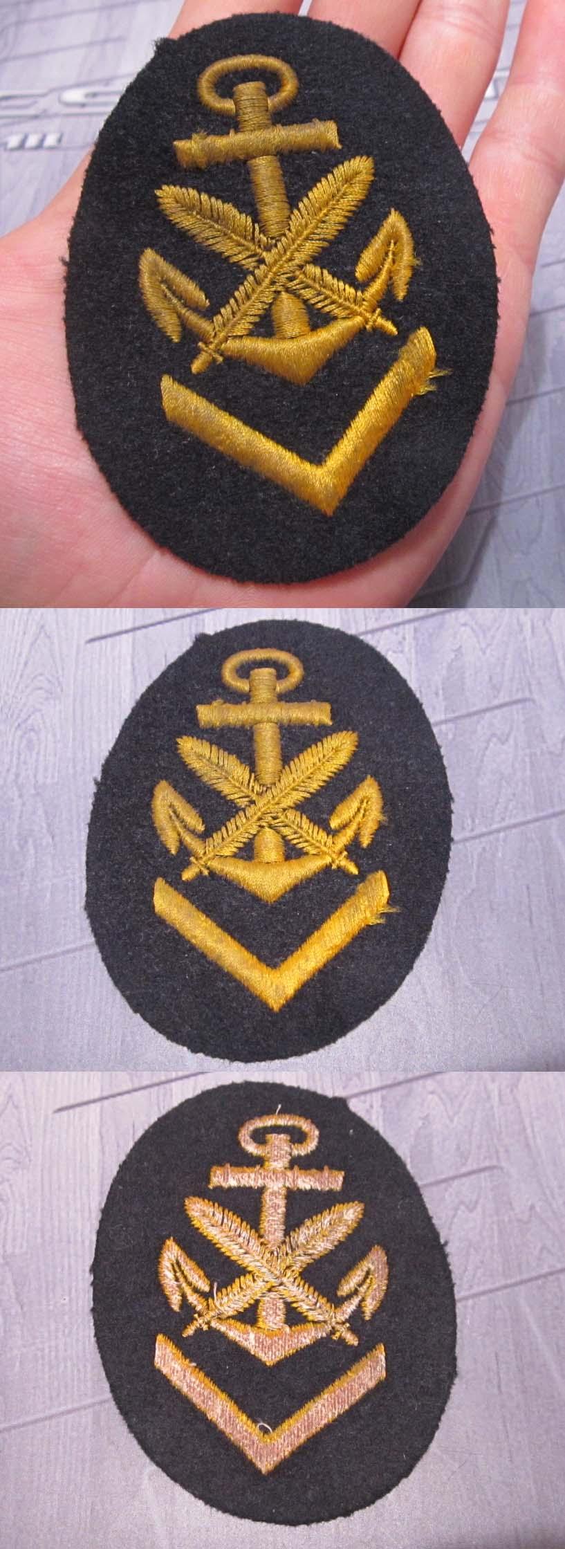 Senior Clerical Career Sleeve Insignia