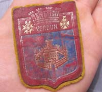French Verdun Souvenir Patch
