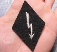 SS Signals EM/NCO Sleeve Diamond