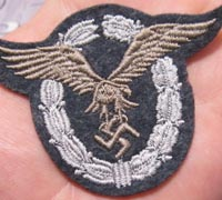 Mint Cloth Pilots Badge