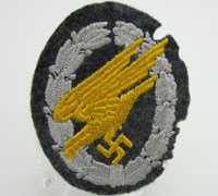 Luftwaffe Paratrooper Badge in Cloth