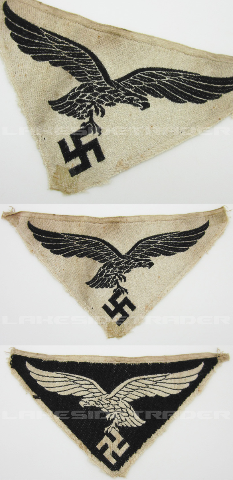 Reverse Side - Luftwaffe Sports Shirt Insignia