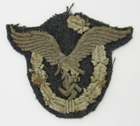 Luftwaffe Pilot Badge Patch