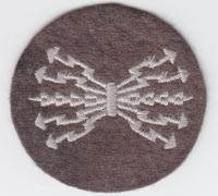"Luftwaffe Air Signals ""B"" class Radio Operators Trade Badge"