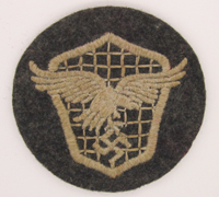 Luftwaffe Motor Vehicle Drivers Trade Badge