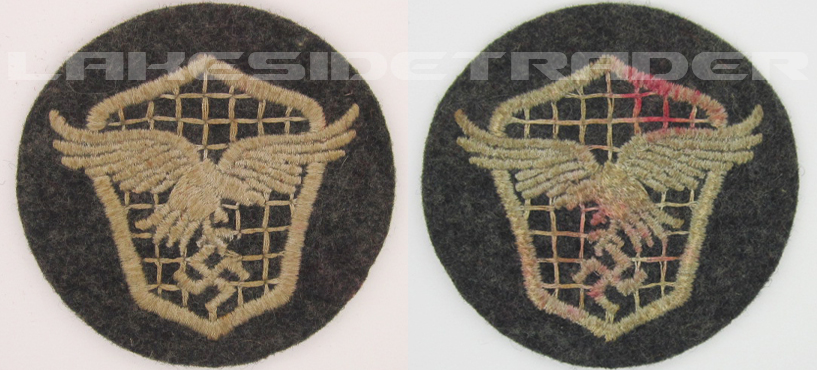 Luftwaffe Motor Vehicle Drivers Trade Badge
