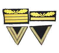 4 Pieces Waffen SS Sleeve insignia