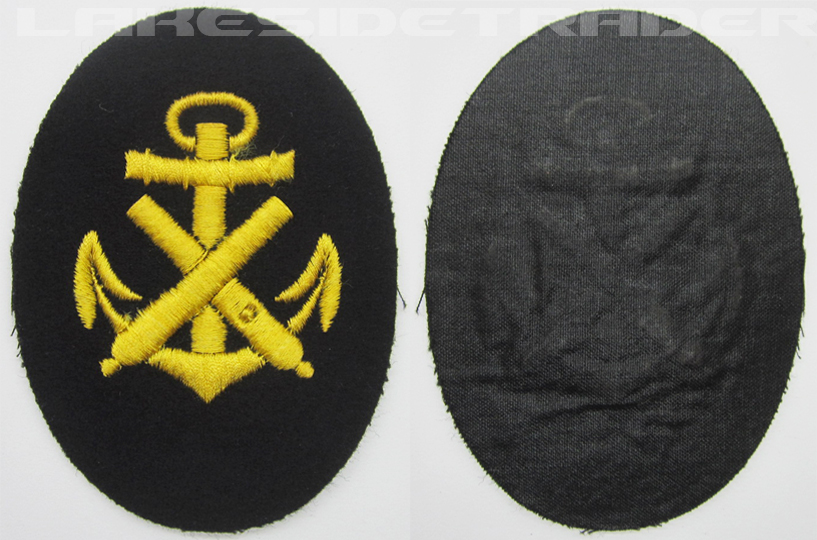 Navy Ordinance Career Sleeve Insignia