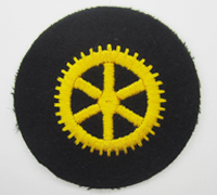 Navy Machine Engine EM Career Sleeve Insignia