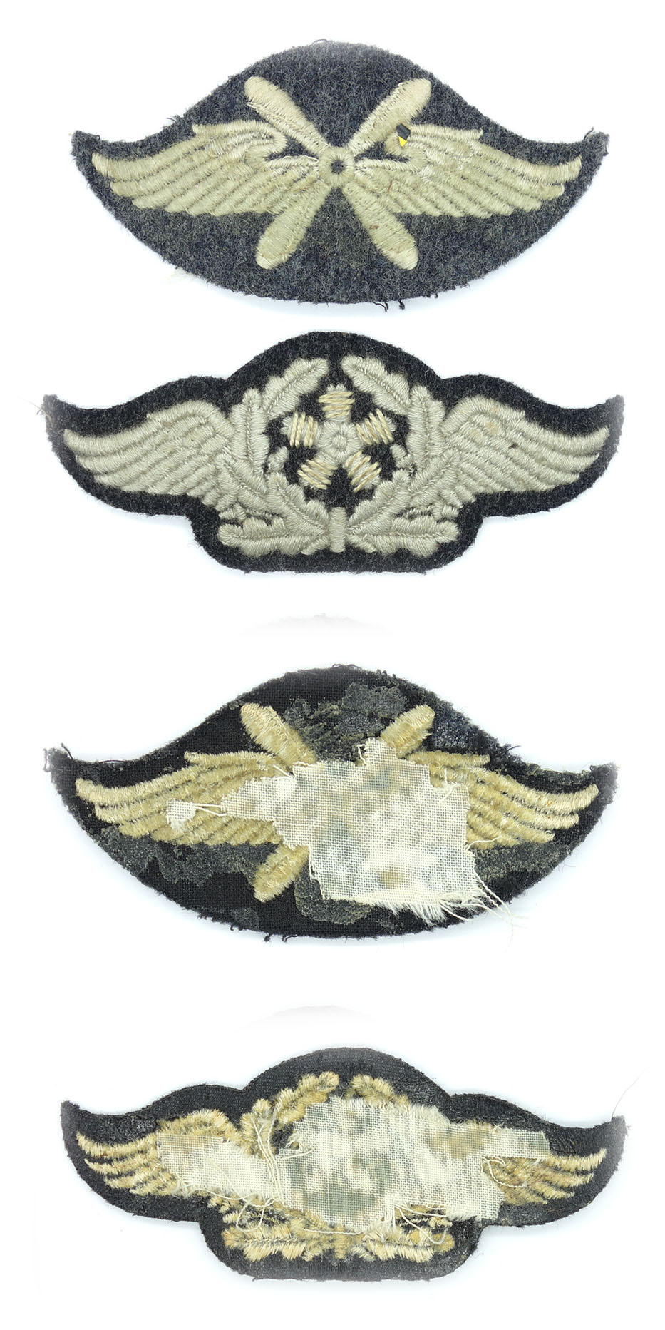 Two Luftwaffe Trade Insignia Flight & Technical