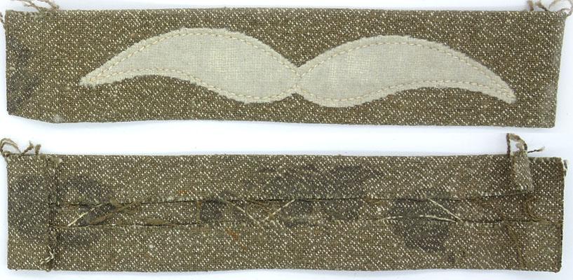 DLV/Luftwaffe Unteroffizier's Summer Sleeve Rank Insignia