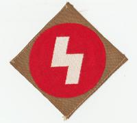 Tagged DJ Sigrune Sleeve Badge