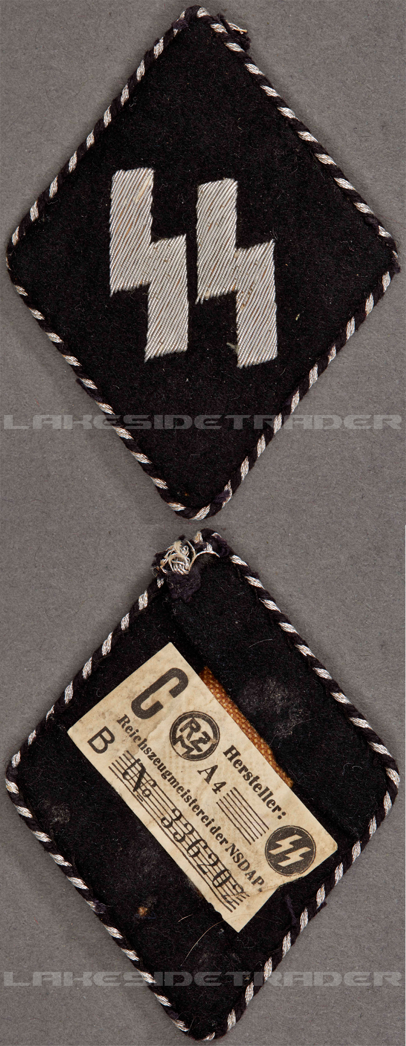 Tagged – Officers Germanic SS Sleeve Diamond