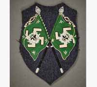 Luftwaffe Hermann Goring Units Flag Bearer's Sleeve Shield