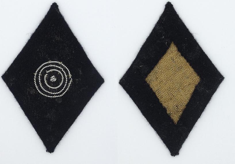 SS Officer Marksman 2nd Class Sleeve Diamond
