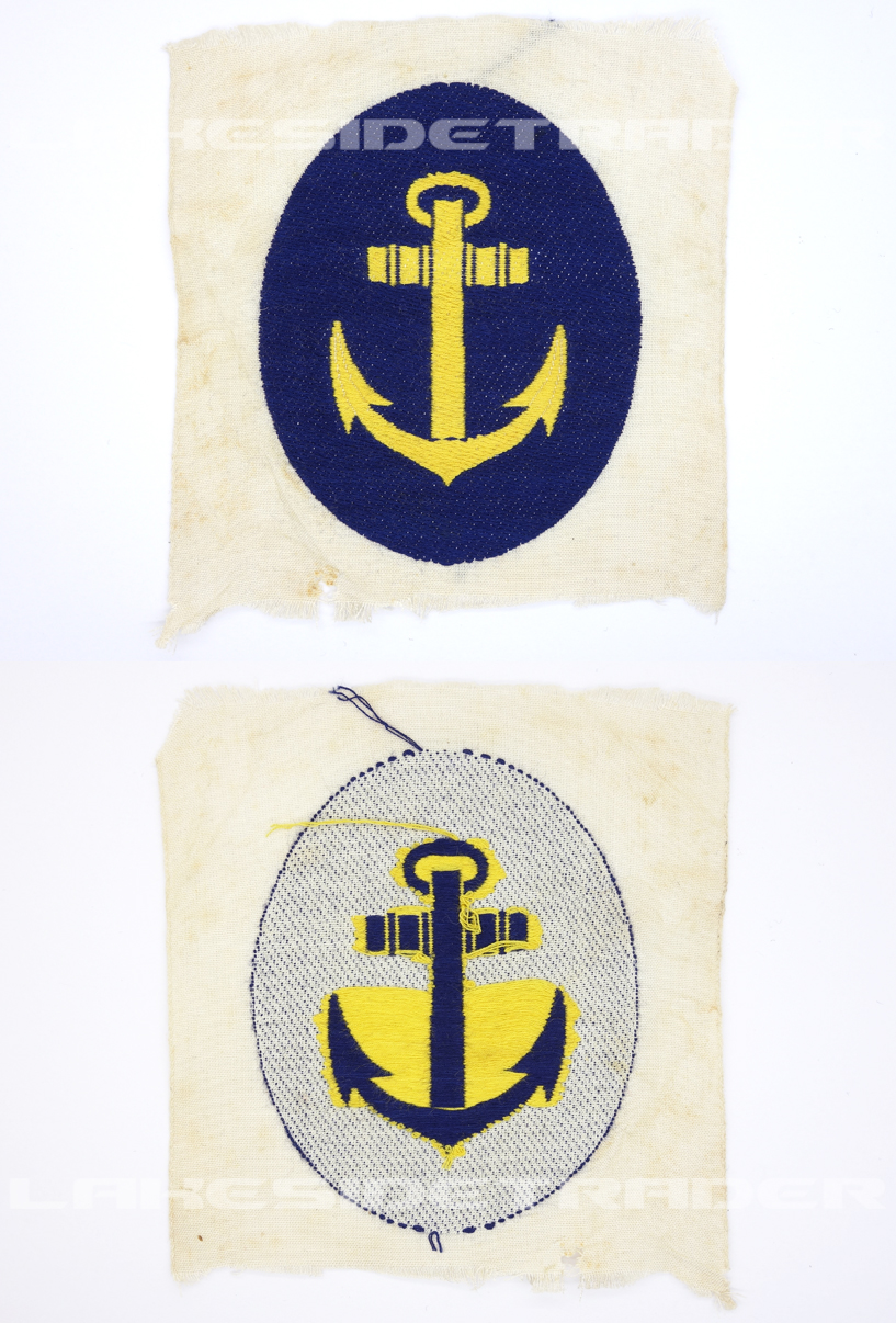 Navy Sport Shirt Insignia