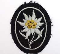SS Mountain Troop Sleeve Edelweiss