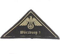 """DRK """"Würzburg 1"""" Sleeve Triangle"""