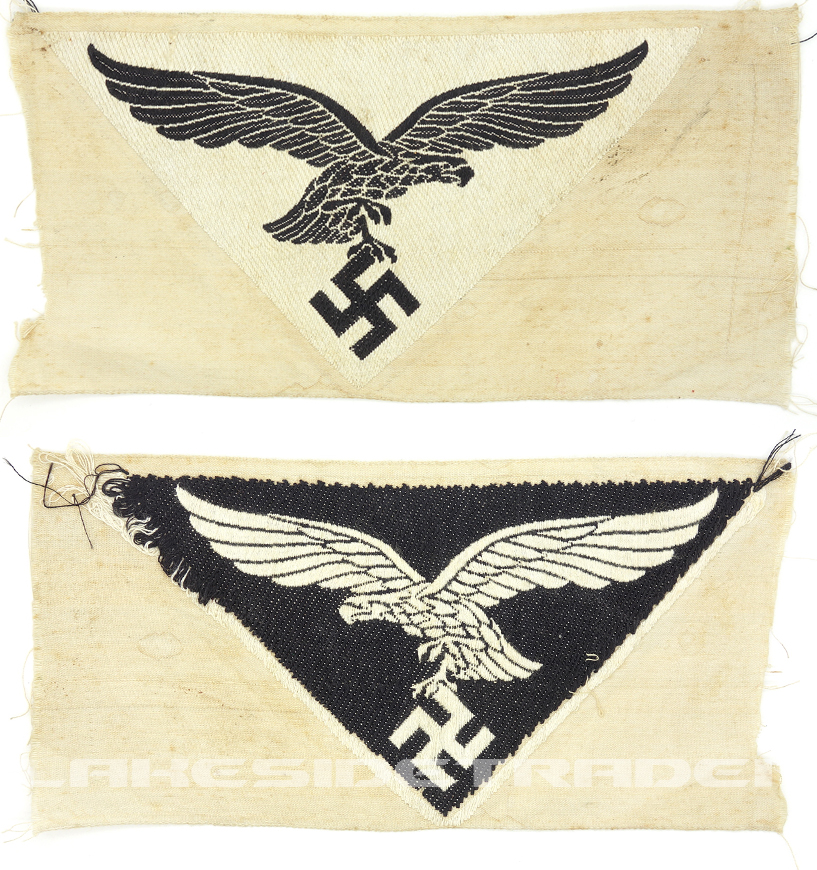 Reverse Side ‐ Luftwaffe Sports Patch