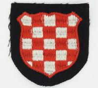 Waffen-SS Croatian Volunteer's Sleeve Shield
