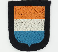 Waffen-SS Dutch Volunteer's Sleeve Shield
