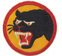 US Army WW2 66th Infantry Division Black Panther Formation Patch
