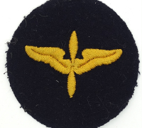 WWII US Army Air Force Black Cadet Patch