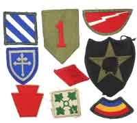 11 US Military Patches
