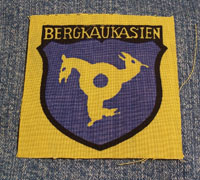 Bergkaukasien Volunteer Shield